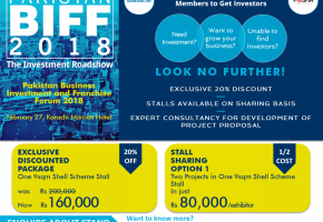 pakistan business investment and franchise forum the investment roadshow pakbiff 2018