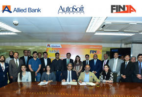 autosoft dynamics and finja join hands to launch abls branchless banking solution